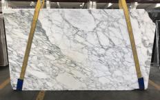 Lieferung polierte Unmaßplatten 2 cm aus Natur Marmor CALACATTA MONET 1541M. Detail Bild Fotos