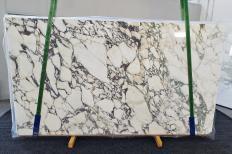 Lieferung polierte Unmaßplatten 2 cm aus Natur Marmor CALACATTA MONET 1302. Detail Bild Fotos