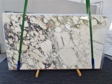 Lieferung polierte Unmaßplatten 2 cm aus Natur Marmor CALACATTA MONET 1312. Detail Bild Fotos