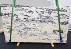 Lieferung polierte Unmaßplatten 2 cm aus Natur Marmor CALACATTA MONET 1371. Detail Bild Fotos