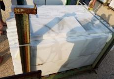 Lieferung rohe Streifen 1 cm aus Natur Marmor CALACATTA ORO EXTRA 12X24. Detail Bild Fotos