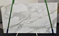 Lieferung polierte Unmaßplatten 2 cm aus Natur Marmor CALACATTA ORO EXTRA GL 1090. Detail Bild Fotos