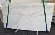 Lieferung polierte Unmaßplatten 2 cm aus Natur Marmor CALACATTA ORO 1286. Detail Bild Fotos