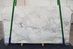 Lieferung polierte Unmaßplatten 2 cm aus Natur Marmor CALACATTA ORO 1232. Detail Bild Fotos