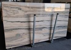 Lieferung polierte Unmaßplatten 2 cm aus Natur Marmor CALACATTA SAINT TROPEZ A0128. Detail Bild Fotos