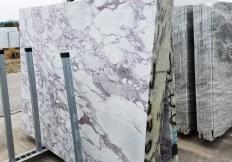Lieferung gesägte Unmaßplatten 2 cm aus Natur Marmor CALACATTA VAGLI ROSATO Z0386. Detail Bild Fotos