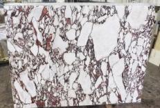 Lieferung polierte Unmaßplatten 2 cm aus Natur Marmor CALACATTA VAGLI ROSATO AA R125. Detail Bild Fotos