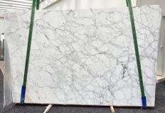 Lieferung polierte Unmaßplatten 3 cm aus Natur Marmor CALACATTA VAGLI VENA FINA 1201. Detail Bild Fotos