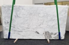 Lieferung polierte Unmaßplatten 2 cm aus Natur Marmor CALACATTA VAGLI VENA FINA #1374. Detail Bild Fotos