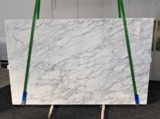 Lieferung polierte Unmaßplatten 3 cm aus Natur Marmor CALACATTA VAGLI VENA FINA GL 1128. Detail Bild Fotos