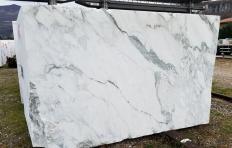 Lieferung diamantgesägte Blöcke 180 cm aus Natur Marmor calacatta vagli Z0391. Detail Bild Fotos
