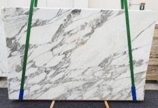 Lieferung polierte Unmaßplatten 3 cm aus Natur Marmor CALACATTA VAGLI 1396. Detail Bild Fotos