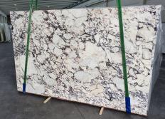 Lieferung polierte Unmaßplatten 3 cm aus Natur Marmor CALACATTA VIOLA 1291. Detail Bild Fotos