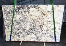 Lieferung polierte Unmaßplatten 2 cm aus Natur Marmor CALACATTA VIOLA 1291. Detail Bild Fotos