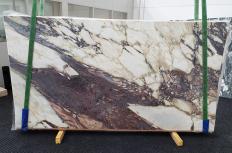 Lieferung polierte Unmaßplatten 2 cm aus Natur Marmor CALACATTA VIOLA 1440. Detail Bild Fotos