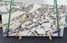 Lieferung polierte Unmaßplatten 2 cm aus Natur Marmor CALACATTA VIOLA 1431. Detail Bild Fotos