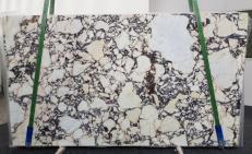 Lieferung polierte Unmaßplatten 0.8 cm aus Natur Marmor CALACATTA VIOLA #1106. Detail Bild Fotos