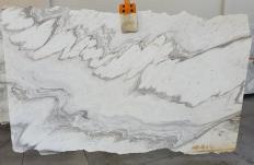 Lieferung geschliffene Unmaßplatten 2 cm aus Natur Marmor CALACATTA WAVE 1451. Detail Bild Fotos