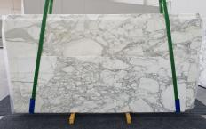 Lieferung polierte Unmaßplatten 2 cm aus Natur Marmor CALACATTA 1230. Detail Bild Fotos