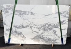 Lieferung polierte Unmaßplatten 2 cm aus Natur Marmor CALACATTA 1301. Detail Bild Fotos