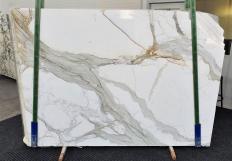 Lieferung polierte Unmaßplatten 2 cm aus Natur Marmor CALACATTA 1310. Detail Bild Fotos