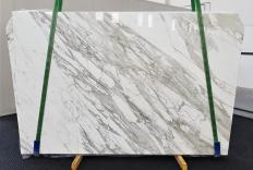Lieferung polierte Unmaßplatten 2 cm aus Natur Marmor CALACATTA 1344. Detail Bild Fotos