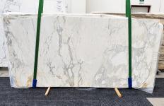 Lieferung geschliffene Unmaßplatten 2 cm aus Natur Marmor CALACATTA 14271. Detail Bild Fotos