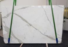 Lieferung polierte Unmaßplatten 3 cm aus Natur Marmor CALACATTA GL 1108. Detail Bild Fotos