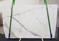 Lieferung geschliffene Unmaßplatten 3 cm aus Natur Marmor CALACATTA GL 1108. Detail Bild Fotos