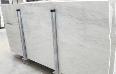 Lieferung polierte Unmaßplatten 2 cm aus Natur Marmor CARRARA 1548M. Detail Bild Fotos