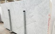 Lieferung polierte Unmaßplatten 2 cm aus Natur Marmor CARRARA 1693M. Detail Bild Fotos