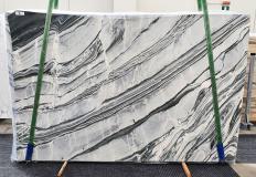 Lieferung polierte Unmaßplatten 2 cm aus Natur Marmor CIPOLLINO NERO 1379. Detail Bild Fotos