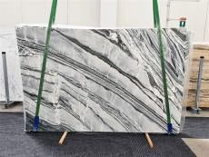 Lieferung polierte Unmaßplatten 3 cm aus Natur Marmor CIPOLLINO NERO 1379. Detail Bild Fotos