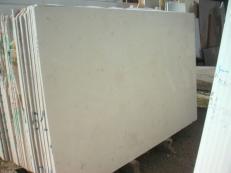 Lieferung polierte Unmaßplatten 2 cm aus Natur Marmor CREMA LUNA SRC0506. Detail Bild Fotos