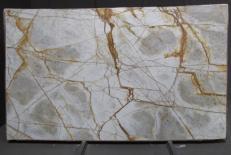 Lieferung polierte Unmaßplatten 2 cm aus Natur Quarzit CRISTALLO IMPERIALE DG027. Detail Bild Fotos