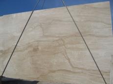Lieferung polierte Unmaßplatten 2 cm aus Natur Marmor DAINO REALE C-M2391. Detail Bild Fotos