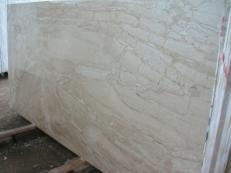 Lieferung polierte Unmaßplatten 2 cm aus Natur Marmor DAINO REALE SRCO521. Detail Bild Fotos