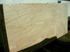 Lieferung polierte Unmaßplatten 2 cm aus Natur Marmor DAINO REALE SRC0398. Detail Bild Fotos