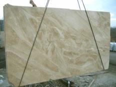 Lieferung polierte Unmaßplatten 3 cm aus Natur Marmor DAINO REALE MC-1446. Detail Bild Fotos