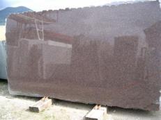 Lieferung polierte Unmaßplatten 2 cm aus Natur Granit DAKOTA MAHOGANY EDM25114. Detail Bild Fotos