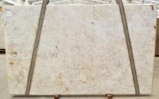 Lieferung polierte Unmaßplatten 2 cm aus Natur Quarzit DIAMOND CRISTALLO BQ02283. Detail Bild Fotos