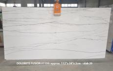 Lieferung polierte Unmaßplatten 2 cm aus Natur Dolomit DOLOMITE FUSION 1150. Detail Bild Fotos