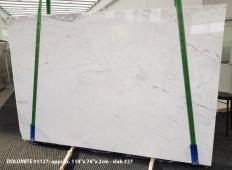 Lieferung polierte Unmaßplatten 2 cm aus Natur Dolomit DOLOMITE ORION WHITE 1127. Detail Bild Fotos