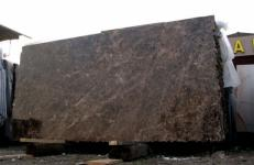 Lieferung polierte Unmaßplatten 2 cm aus Natur Marmor EMPERADOR OSCURO E-210106. Detail Bild Fotos