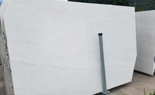 Lieferung gesägte Unmaßplatten 2 cm aus Natur Marmor ESTREMOZ BRANCO Z0125. Detail Bild Fotos