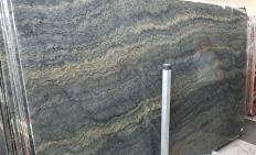 Lieferung polierte Unmaßplatten 2 cm aus Natur Granit EXPLOSION BLUE A0421. Detail Bild Fotos