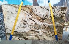 Lieferung polierte Unmaßplatten 2 cm aus Natur Quarzit FUSION MISTIC U0113. Detail Bild Fotos