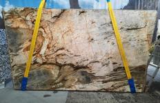 Lieferung polierte Unmaßplatten 2 cm aus Natur Quarzit FUSION MISTIC A0113. Detail Bild Fotos
