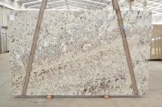 Lieferung polierte Unmaßplatten 3 cm aus Natur Granit GALAXY WHITE 01099. Detail Bild Fotos