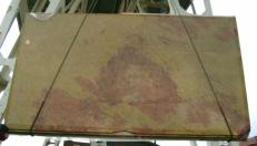 Lieferung polierte Unmaßplatten 2 cm aus Natur Marmor GIALLO ANTICO MELANGE edi27011gm. Detail Bild Fotos
